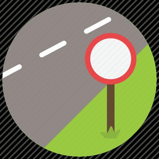 road, sign, street, transportation icon
