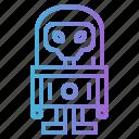 alien, fi, sci, spacesuit, ufo icon
