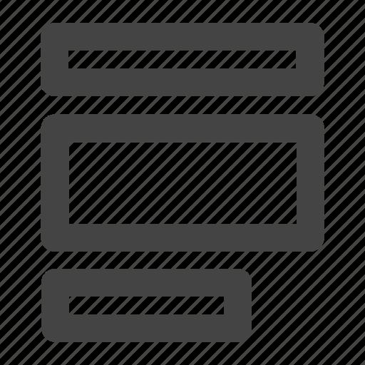 align, align left, alignment, boxes icon