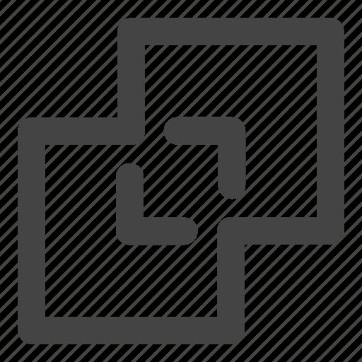 copy, drag, layers, move icon