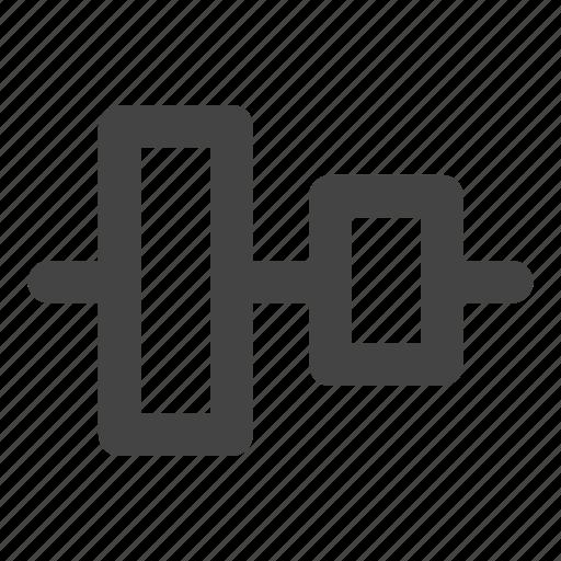 align, align center, align vertical, alignment, vertical icon
