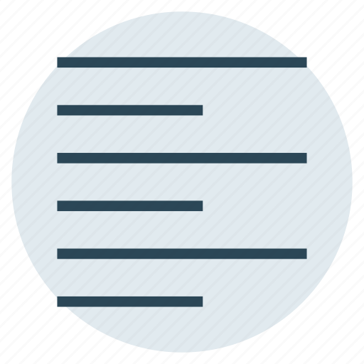 align, alignment, foramt, left, text icon