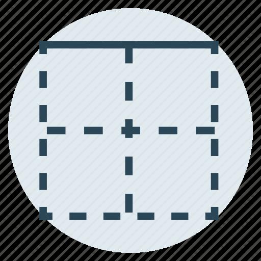 border, columns, rows, table, upper icon