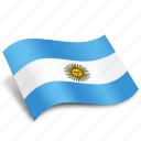 argentina, flag, flags, map, national, pointer, round