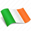 circle, country, eire, iceland, ireland, navigation, pointer icon