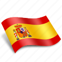 country, direction, espanya, globe, pin, spain, world icon