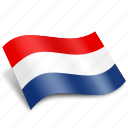 earth, flags, map, nederlands, netherlands, rectangle, world icon