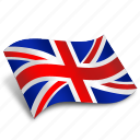 uk, britain, english, flag, location, pound, round