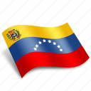 venezuela, arrow, circle, country, national, rectangle, round