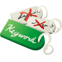 best, choose, keywords icon