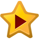 star, video, y icon