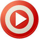 r, targeting, video icon