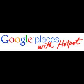 hotpot, logo, places, w icon