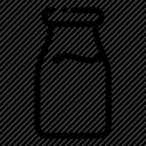 allergenic, allergy, bottle, foods, milk icon