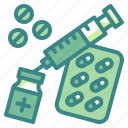 vaccine, drug, medicine, insulin, syringe