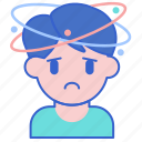 dizziness, headache, migraine icon
