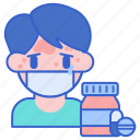 allergy, drug, pills icon