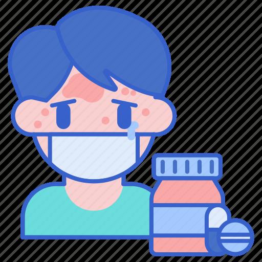 allergy, drug, pills icon