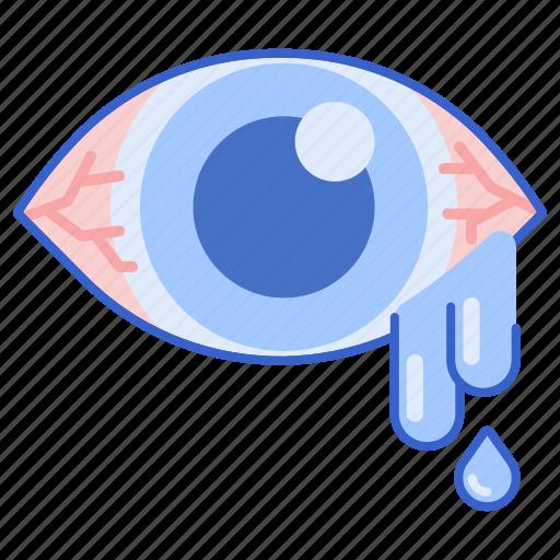 allergy, eye, irritation icon