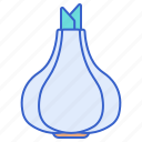 cooking, food, garlic icon