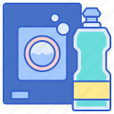 chemicals, cleaning, household icon