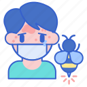 allergy, insect, bee icon