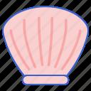 molluscs, sea, shell icon