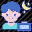 disorder, night, sleep icon