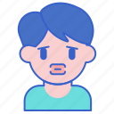 allergy, lips, swelling icon