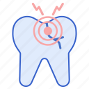 dental, dentist, pain, teeth icon