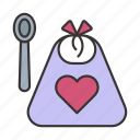 apron, baby, bib, child, cooking, infant, newborn icon