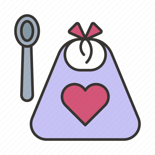apron, baby, bib, child, cooking, infant, newborn icon