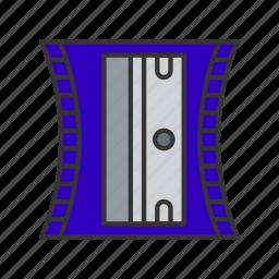 pencil, school, sharpener, stationery, tool icon