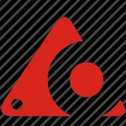 alphabet, o icon