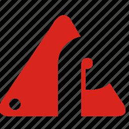 alphabet, p icon