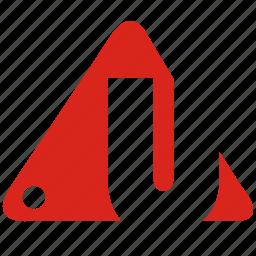 alphabet, u icon