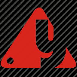 alphabet, y icon