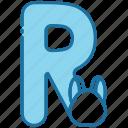 r, alphabet, education, letter, text, abc, consonant