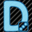 d, alphabet, education, letter, text, abc, consonant