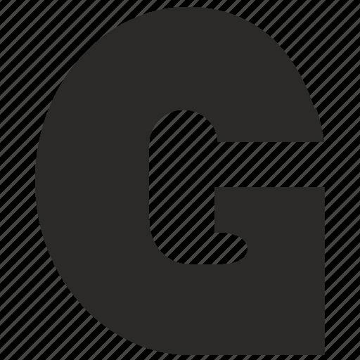 alphabet, child, g, kid, latin, letter icon