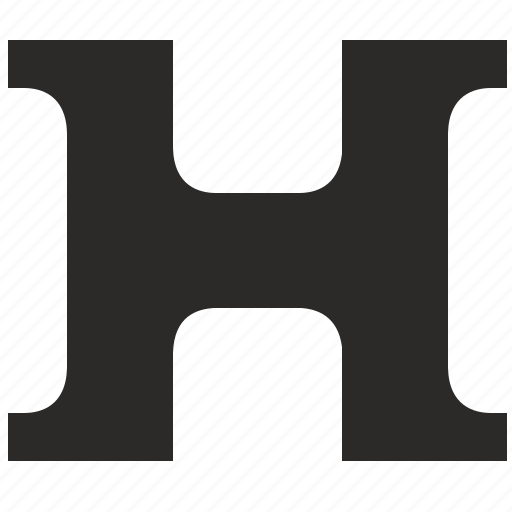 alphabet, child, h, kid, latin, letter icon