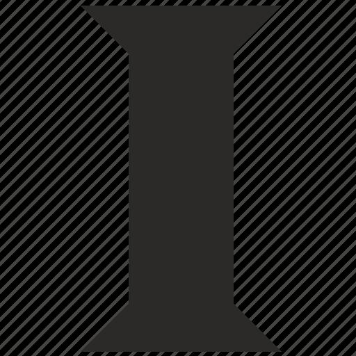 alphabet, child, i, kid, latin, letter icon