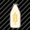 lacto ovo, oat milk, vegan icon