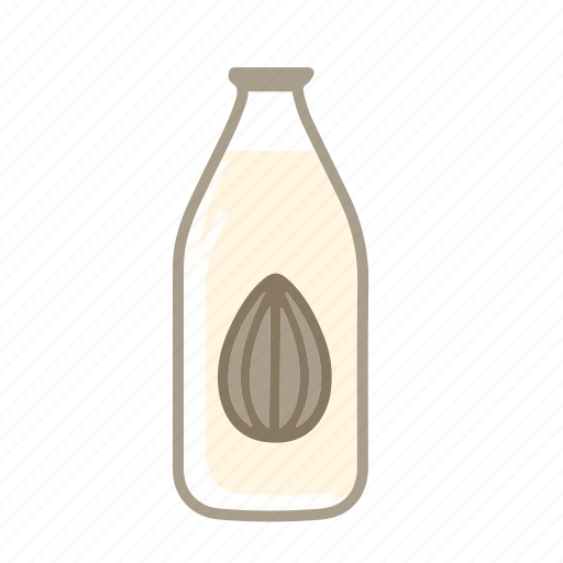 almond milk, lacto ovo, lactose free, vegan milk, vegetarian milk icon