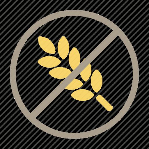 food allergie, gluten free, ibs, no gluten icon