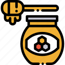 honey, honeyjar, jar icon