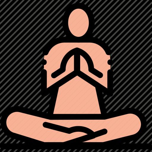 chanting, healing, mantra, meditation, namaskar, yoga icon