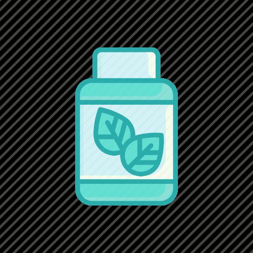 alternative, herbal, line, medicine, supplement, thin icon