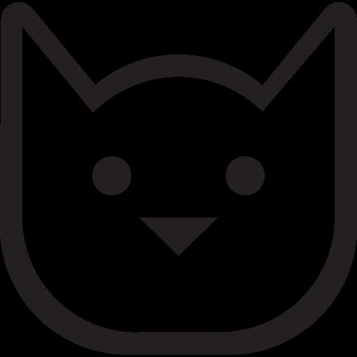 animals, cats, friendly, kitty, pets icon