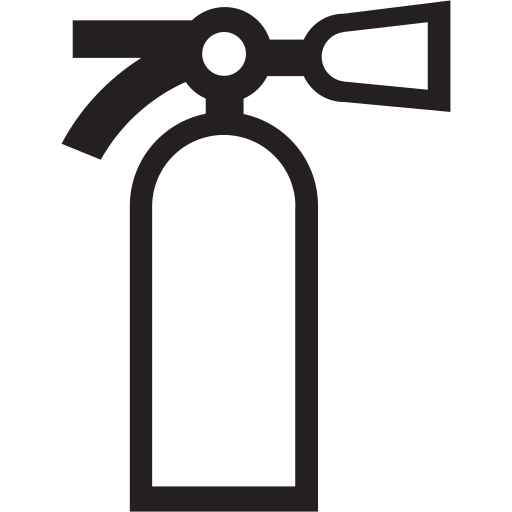 extinguisher, fire, protection, safe, safety icon